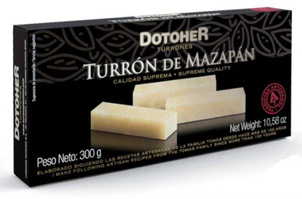 pastilla de Turrón de Mazapán. Tienda online de turrones hechos a mano.